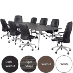 8 Feet Luna Conference Table - 4 Colors