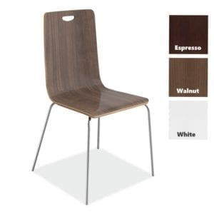 Bleecker Cafe Chair with Handle - Walnut - 3 Colors