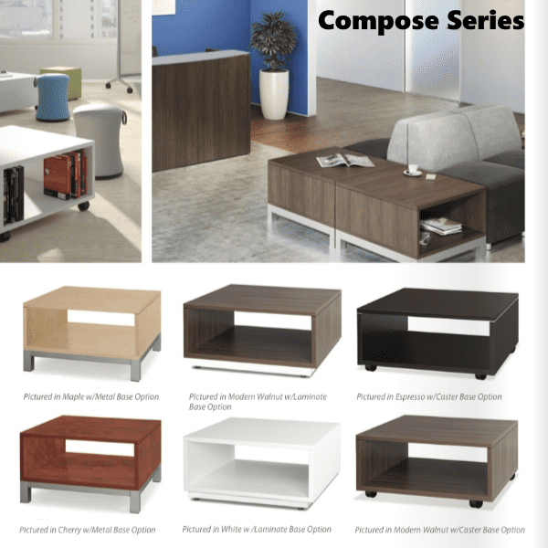 Compose Series Occasional Tables - 8 Colors
