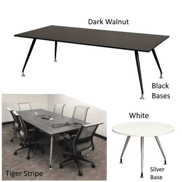 Luna Tables - Finishes