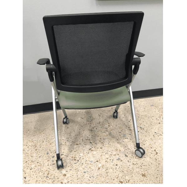 Mesh Back Training Room Nesting Chair - Molded Foam - Dallas u0026 Ft Worth  sc 1 st  Anderson u0026 Worth Office Furniture : nesting chair - lorbestier.org