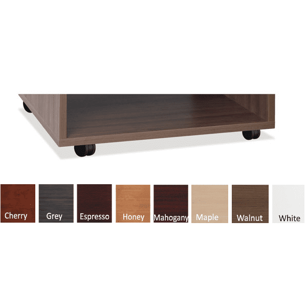 Mobile Base - Walnut - 8 Colors