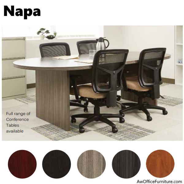 Napa 6' Oval Conference Table - OSP Furniture