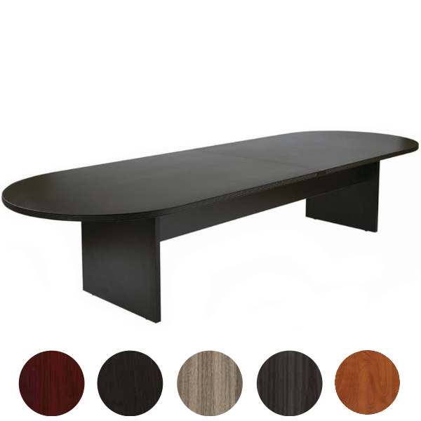 12' x 4' Oval Conference Table