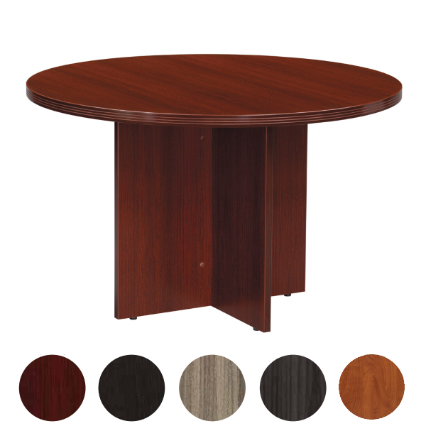 "42"" Round Table with Fluted Edge"