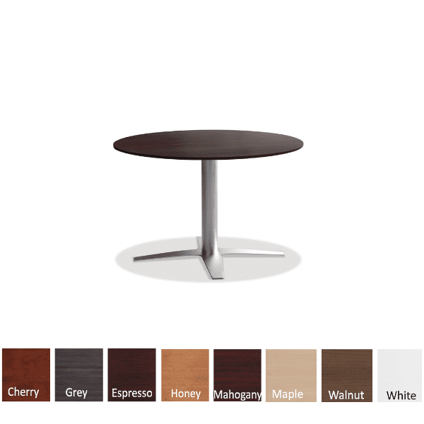 New 4-Prong Base Coffee Height Base Espresso Round Table