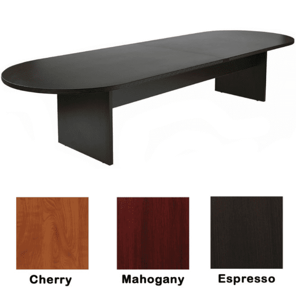 Nexus 12' Conference Table - Espresso - 3 Colors