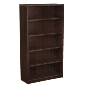 Nexus 5-Shelf Bookcase - Espresso - 3 Colors