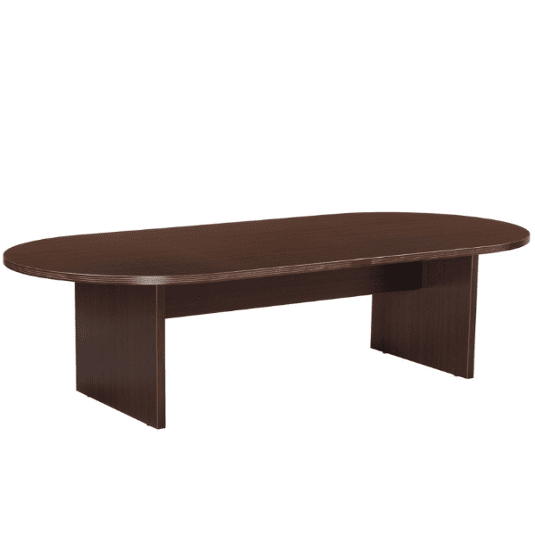 Nexus 10 Feet Oval Shape Conference Table - Espresso