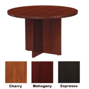 Nexus Round Table Mahogany - 3 Colors
