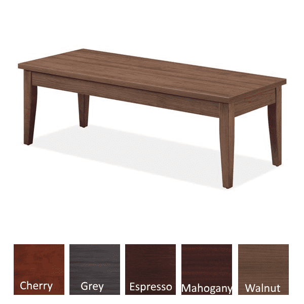 Performance Laminate Coffee Table - Walnut - Available in 5 Colors