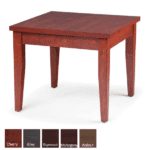 Performance Laminate End Table - Cherry - Available in 5 Colors