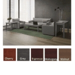 Performance Laminate Occassional Tables - Available in 5 Colors - Gray Finish