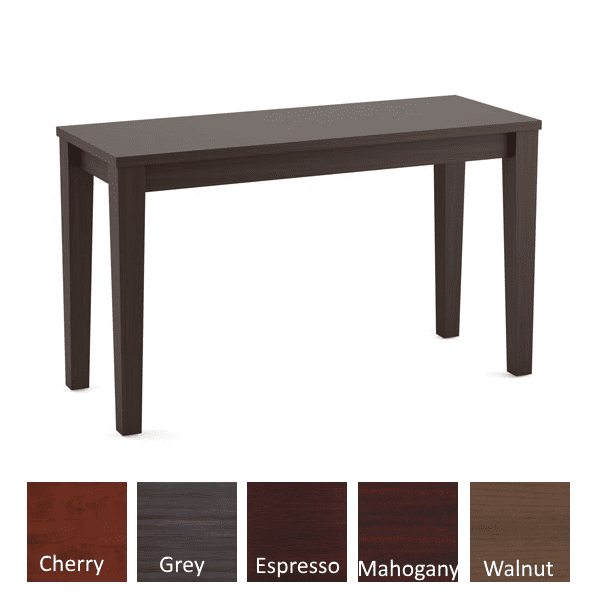 Performance Laminate Sofa Table - Espresso - Available in 5 Colors