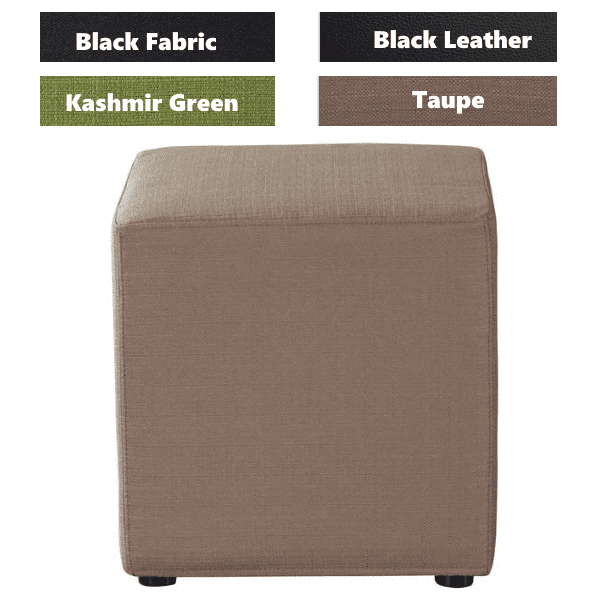 Shapes Collection - Cube - Taupe Fabric - 4 Colors