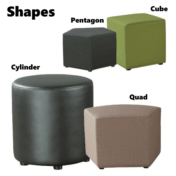 Shapes Ottoman Seating Collection