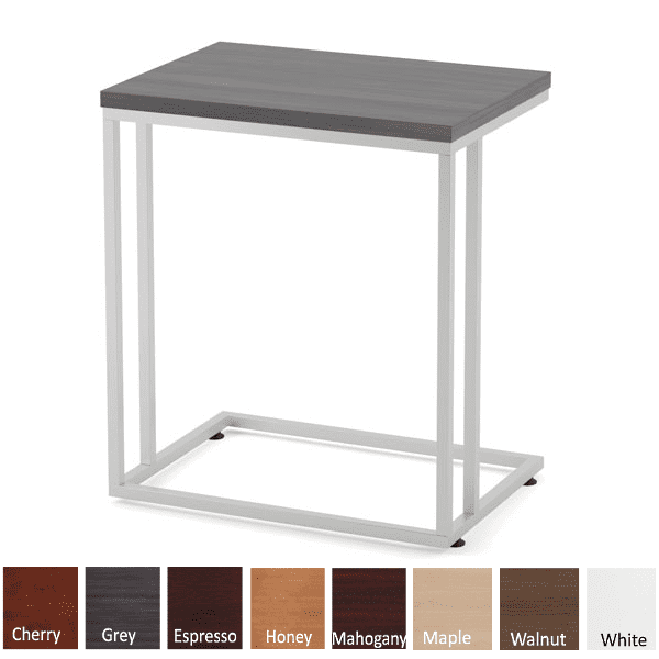 Occasional C Shaped End Table 8 Colors