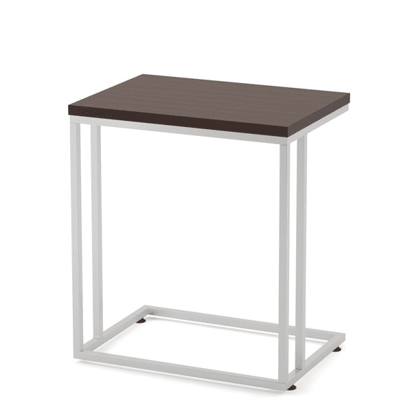 Side C Table with Laminate Top - Espresso 1