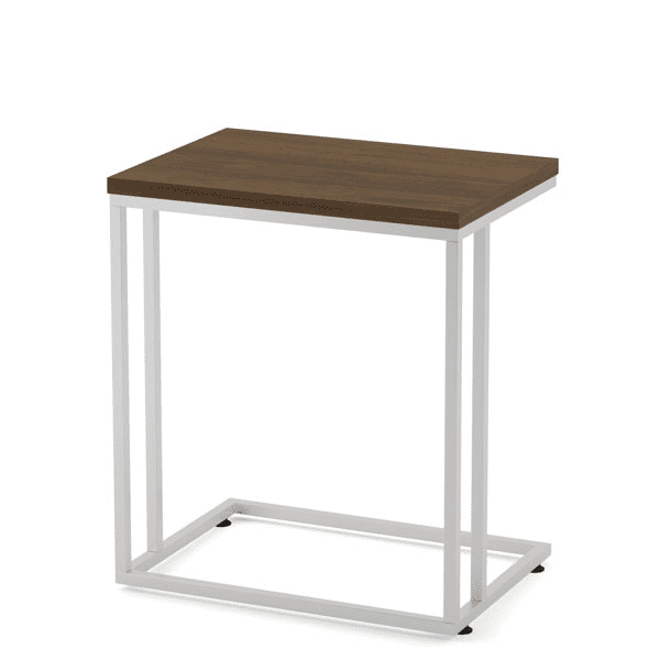 Side C Table with Laminate Top - Walnut