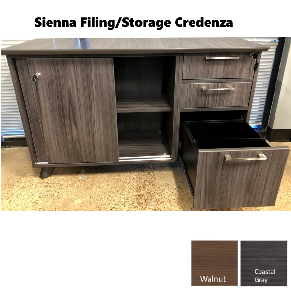 Sienna OX9245 Credenza Cabinet from Office Source