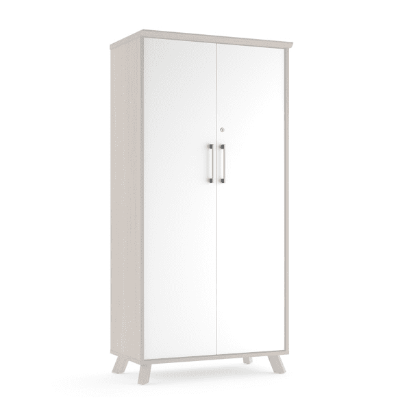 Sienna Storage Cabinet - White Doors - 3 Colors