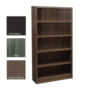 Status Bookcase Walnut - Colors