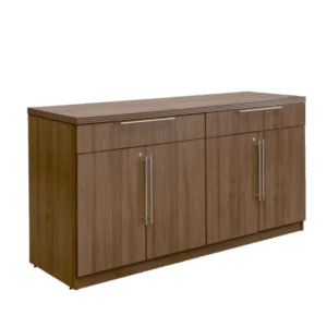 Status Storage Buffett Cabinet - Walnut Finish