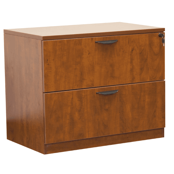 Ultra 2-Drawer Lateral File Cabinet - Cherry - 5 Colors