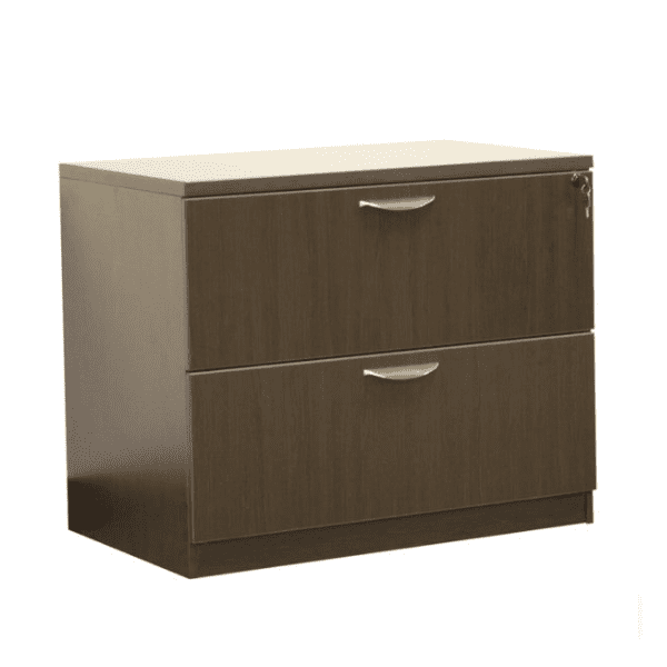 Ultra 2-Drawer Lateral File Cabinet - Espresso - 5 Colors