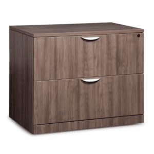 Ultra 2-Drawer Lateral File Cabinet - Walnut - 5 Colors