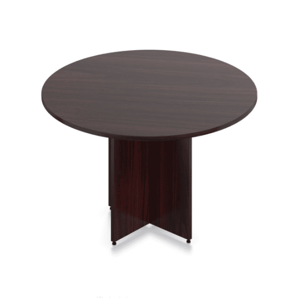 Ultra 4 Feet Round Table - Mahogany
