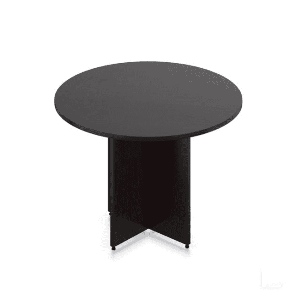 Ultra 42 Inch Round Table - Espresso