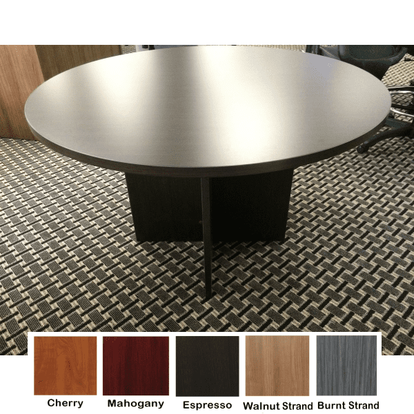Ultra 48 Inch Round Table - Espresso - 5 Colors