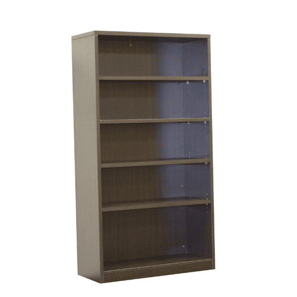 Ultra 5-Shelf Bookcase - Espresso - 5 Colors