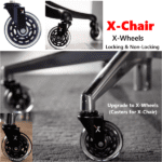 XChair XWheel Casters Upgrade for X-Chair