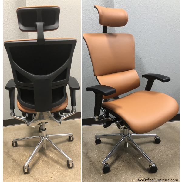 X-Chair V4 - All Leather with Headrest