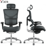 X3 Chair - Side and Front View