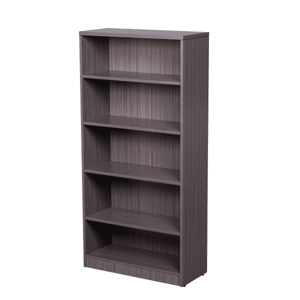 Values Driftwood 6' Tall Bookcase