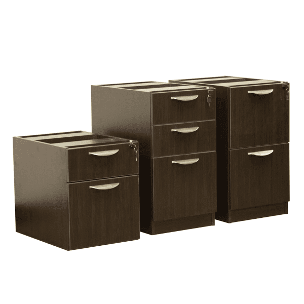 Ultra Series Espresso Pedestals - Three Types