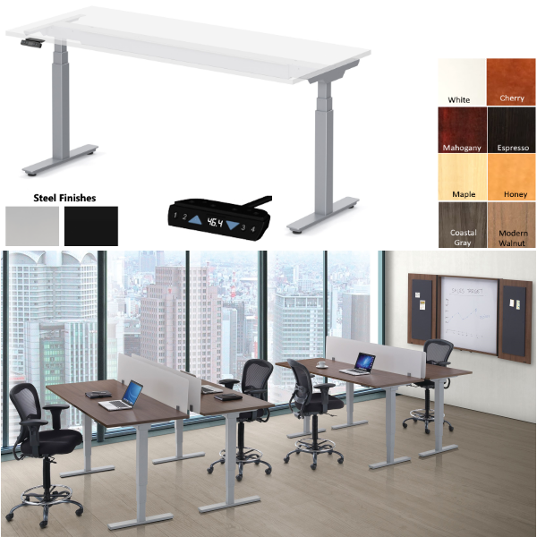 Office Source Standup Desk Collection