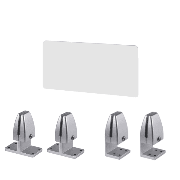 PLTAP 24 Inch x 15 Inch High Clear Acrylic Privacy Screen Divider