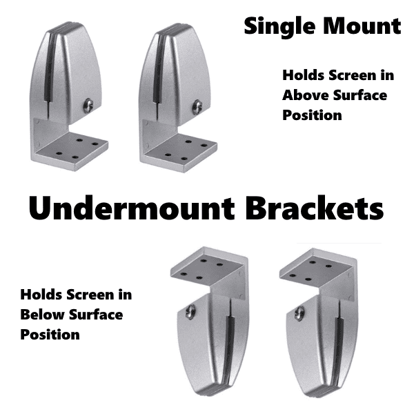 PLTAP Undermount Single Mount Bracket Hardware