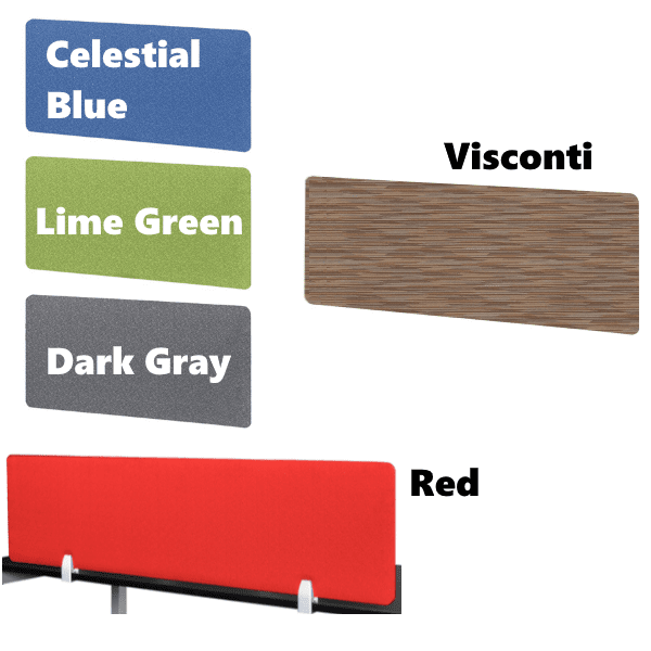 PLTFP Fabric Screens - 5 Colors