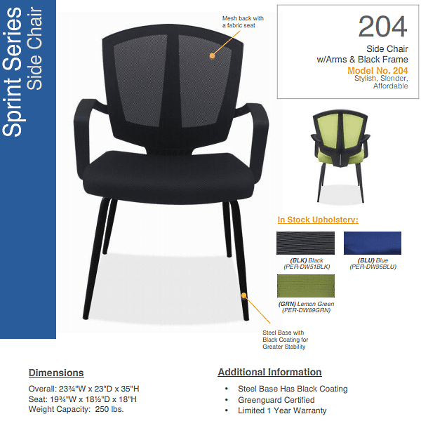 Sprint Guest Chair - 3 Colors