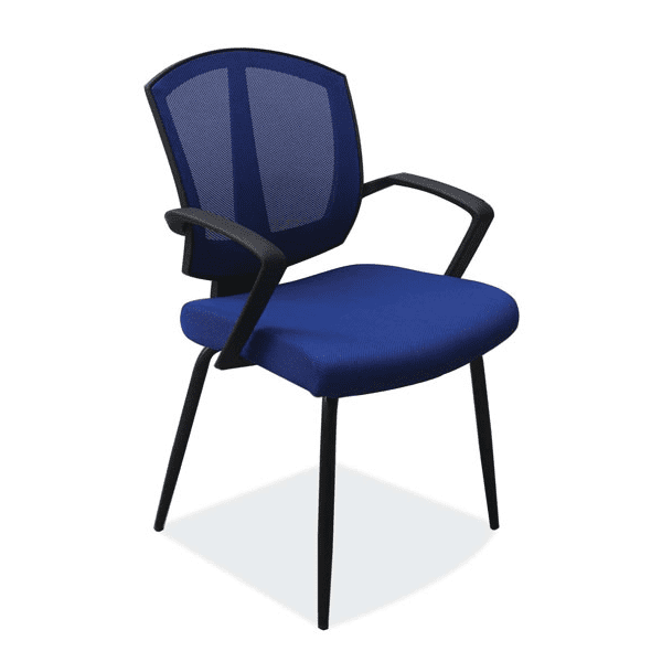 Sprint Guest Chair - Blue Mesh - 3 Fabric Colors