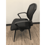 Sprint Guest Chair - Side - Black Mesh - 3 Colors