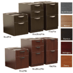 Ultra Storage Pedestals - 2-Drawer & 3-Drawer Models