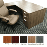 Ultra Walnut L-Shape Interior - 5 Colors
