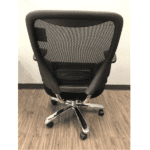 Values 400 Lbs. Rated Mesh Back Big & Tall Chair - Rear