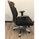 Values 400 Lbs. Rated Mesh Back Big & Tall Chair - Side